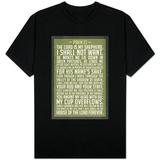 Psalm 23 Prayer T-skjorter