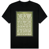 Psalm 23 Prayer T-shirts