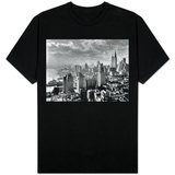 East River Waterfront and Manhattan, 1931 Shirts
