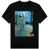 Dancer in Front of a Window (Dancer at the Photographer's Studio) circa 1874-77 Shirt