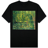 Woods and Undergrowth, c.1887 T-shirts