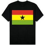 Ghana National Flag T-shirts