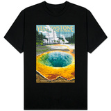 Morning Glory Pool - Yellowstone National Park T-shirts