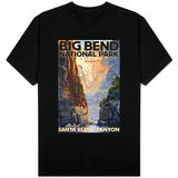 Big Bend National Park, Texas - Santa Elena Canyon T-Shirt