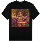 Path in Monet's Garden, Giverny Shirts