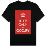 Keep Calm and Occupy Shirt