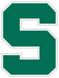 NCAA Michigan State Spartans Vinyl Magnet Magnet