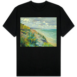 Cliffs by the Sea at Trouville Shirts