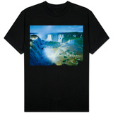 Iguazu Waterfalls and Rainbow. T-Shirt