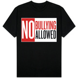 No Bullying Allowed T-shirts