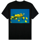 Green sea turtle with passengers Shirts