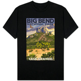 Big Bend National Park, Texas - Casa Grande T-Shirt
