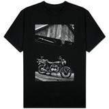 Vintage Motorcycle Photo T-skjorte
