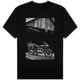 Vintage Motorcycle Photo T-Shirt