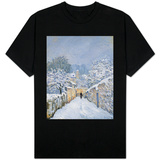 Snow at Louveciennes, 1878 T-shirts