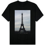 Eiffel Tower Paris Skyline T-shirts
