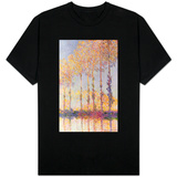 Poplars on the Banks of the Epte, 1891 T-shirts