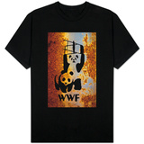 Panda Bear Wrestling T-shirts
