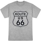 Route 66 Sign T-shirts