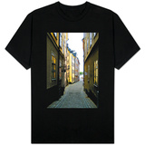 Streets of Sweden Photo T-Shirt