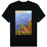 Grand Canyon National Park - Bright Angel Trail T-shirts