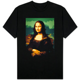 8-Bit Art Mona Lisa T-shirts