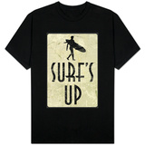 Surf's Up Distressed Sign T-shirts