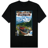 Mount Rainier National Park T-shirts