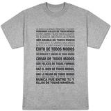 Perdonar a Ellos De Todos Modos T-shirts