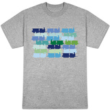 Cool Train Pattern T-shirts
