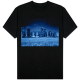 Stonehenge at Night T-Shirt