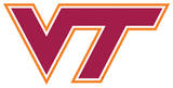 NCAA Virginia Tech Hokies Vinyl Magnet Magnet