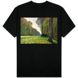 Veien til Bas-Breau, Fontainebleau, ca. 1865 T-skjorter