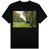 The Road to Bas-Breau, Fontainebleau, circa 1865 T-shirts