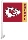 NFL Kansas City Chiefs Car Flag Flag
