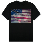 Star-Spangled Banner Lyrics Tshirt