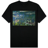 Waterlilies: Green Reflections, 1914-18 (Left Section) Shirts