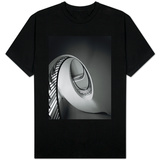 Spiral Staircase in Nathaniel Russell House T-Shirt