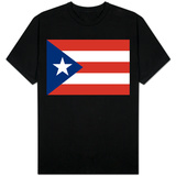 Puerto Rico National Flag Camisetas
