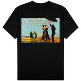 Radioactive Can Singing Butler T-Shirt
