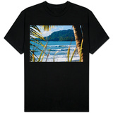 Costa Rica Beach Surfing Waves Photo T-Shirt