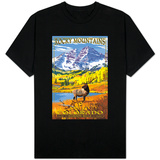Maroon Bells - Rocky Mountain National Park T-shirts