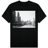 Chicago Skyline and River T-shirts