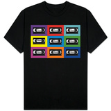 VHS Tapes Pop Art Shirt