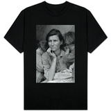 Dorothea Lange Migrant Mother Archival Photo Poster Print Shirts