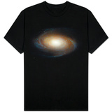 Hubble Photographs Grand Design Spiral Galaxy M81 Space Photo T-Shirt
