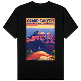 Grand Canyon National Park - Bright Angel Point Shirts