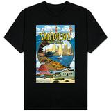 San Diego, California Montage T-Shirt