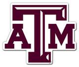 NCAA Texas A&M Aggies Vinyl Magnet Magnet