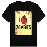 I Heart Zombies Shirts